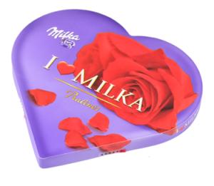 Milka Chocolade Versturen