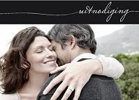 klassieke trouwkaarten - uitnodiging