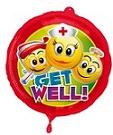 folie ballon - get well soon
