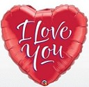 folie ballon - i love you
