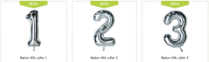 XXL Ballonnen versturen