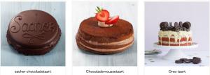 Chocoladetaart versturen